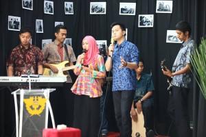 Band Tanjungmas memeriahkan Peresmian KPPBC TMP A Semarang