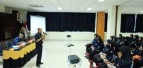 KPPBC TMP Tanjung Emas Berbagi Ilmu dengan Polines