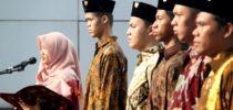 Upacara Hari Kesaktian Pancasila di Hari Batik Nasional