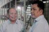Kunjungan Kepala KPPBC TMP Tanjung Emas ke Pabrik Sepeda