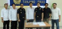 Meningkatkan Pengawasan NPP, KPPBC TMP Tanjung Emas bersinergi dengan BNNP Jawa Tengah
