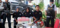 Pemusnahan Narkotika Hasil Tangkapan Bea Cukai Tanjung Emas