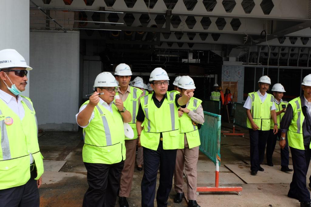 Bea Cukai Tanjung Emas Meninjau Pembangunan Kawasan Pabean di Bandar Udara Internasional Ahmad Yani