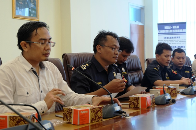 Sharing Information bareng Bea Cukai Tanjung Perak