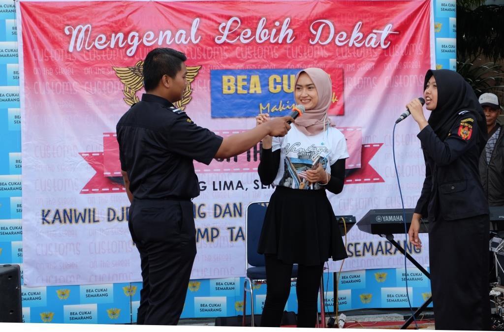 Customs on The Street, Kenalkan Bea Cukai di CFD Semarang