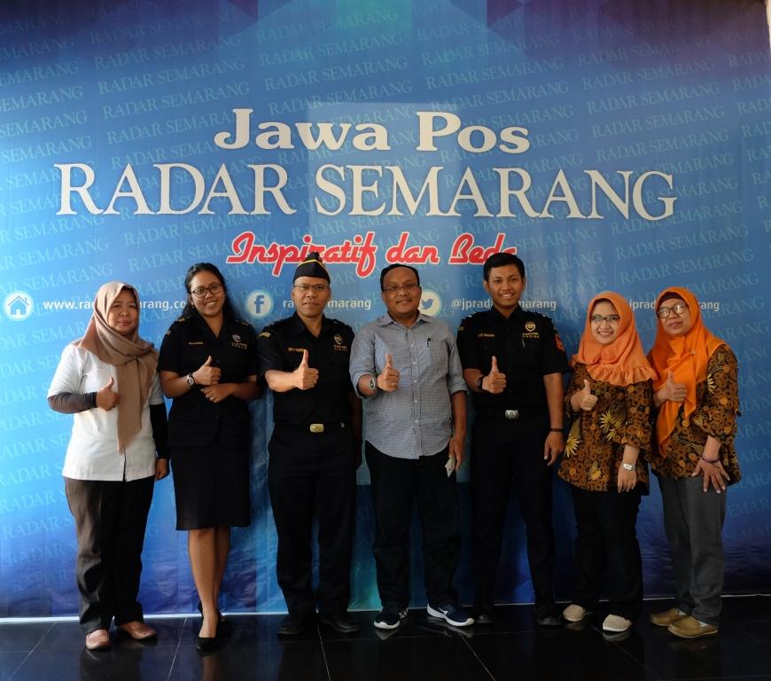 Bea Cukai Edukasi Masyarakat bersama Radar Semarang