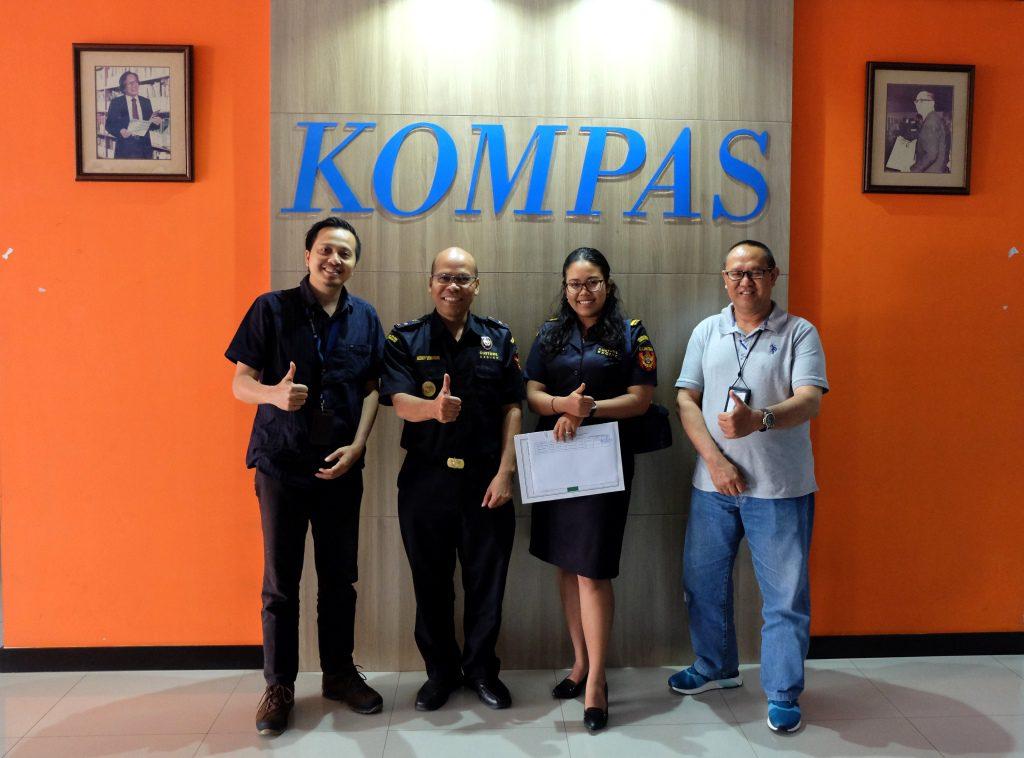 Customs Visit Media : Kupas Tuntas Bea Cukai bersama Kompas