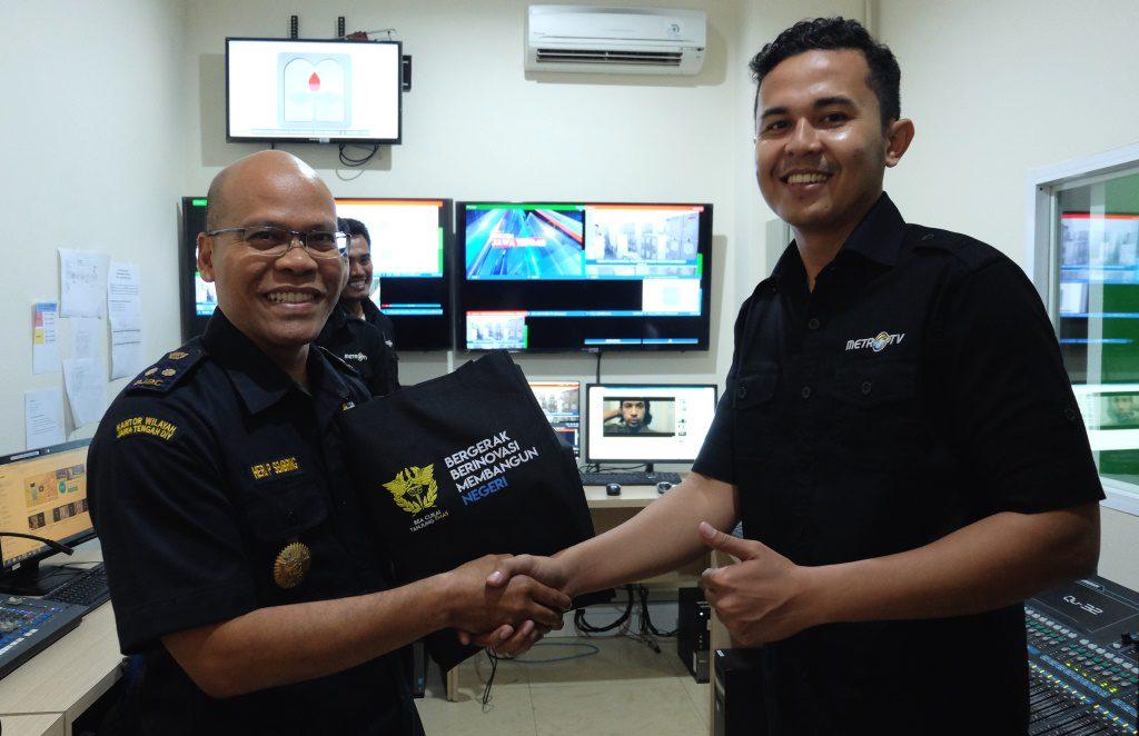 Lewat Metro TV Bea Cukai Tanjung Emas Dekati Masyarakat