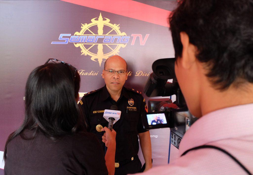 Customs Visit Media : Menjangkau Masyarakat Semarang bersama Semarang TV