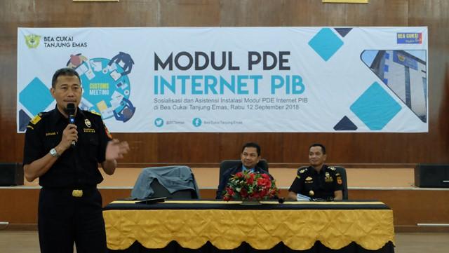 Bea Cukai Optimalkan PDE Internet untuk Penyampaian PIB
