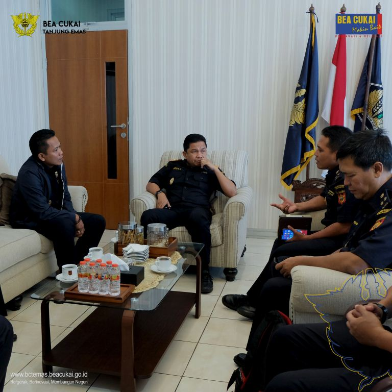Sharing Session Pengelolaan Kehumasan Bea Cukai Tanjung Emas bersama Bea Cukai Marunda
