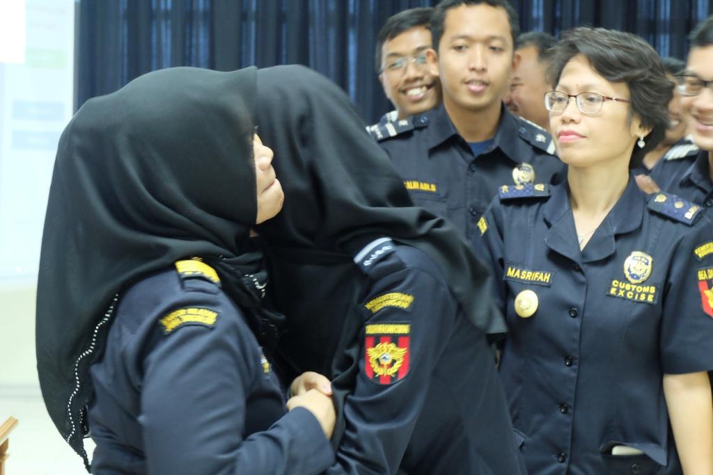 Perpisahan Pegawai Purna Tugas, Kepala Kantor Tekankan Pegawai Milenial Terus Berkarya