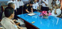 Sinergi : Bea Cukai Tanjung Emas Dukung Pencanangan Zona Intergritas KSOP Tanjung Emas