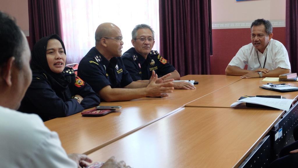 Sinergi Ke BPS Kota Semarang, Komitmen menuju Wilayah Bebas Korupsi.
