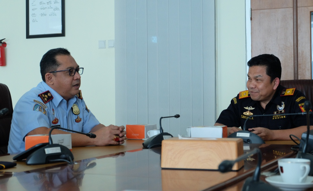 Koordinasi Bea Cukai dan Imigrasi, wujudkan Zona Integritas di Pelabuhan Tanjung Emas