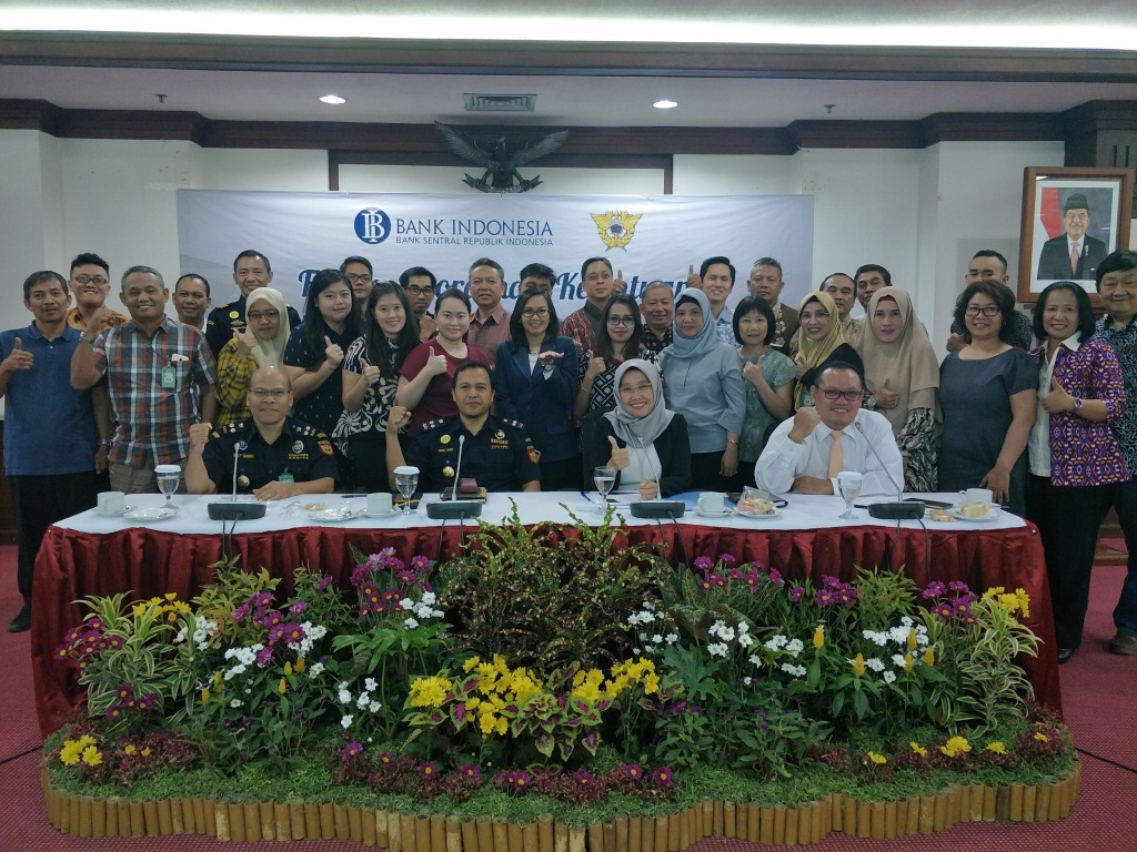Forum Koordinasi ketentuan Pembawaan Uang Kertas Asing oleh Badan Berizin