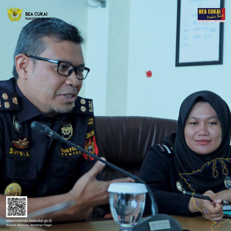Berbagi Strategi Kehumasan bersama Bea Cukai Makassar