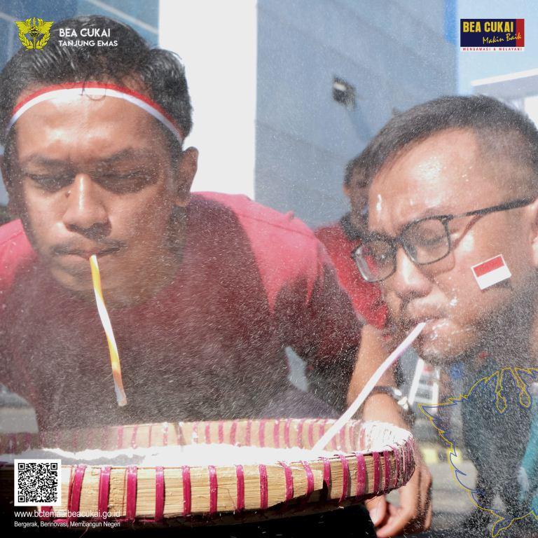 Hangatnya BC Temas dan BC Semarang Rayakan HUT ke-74 RI