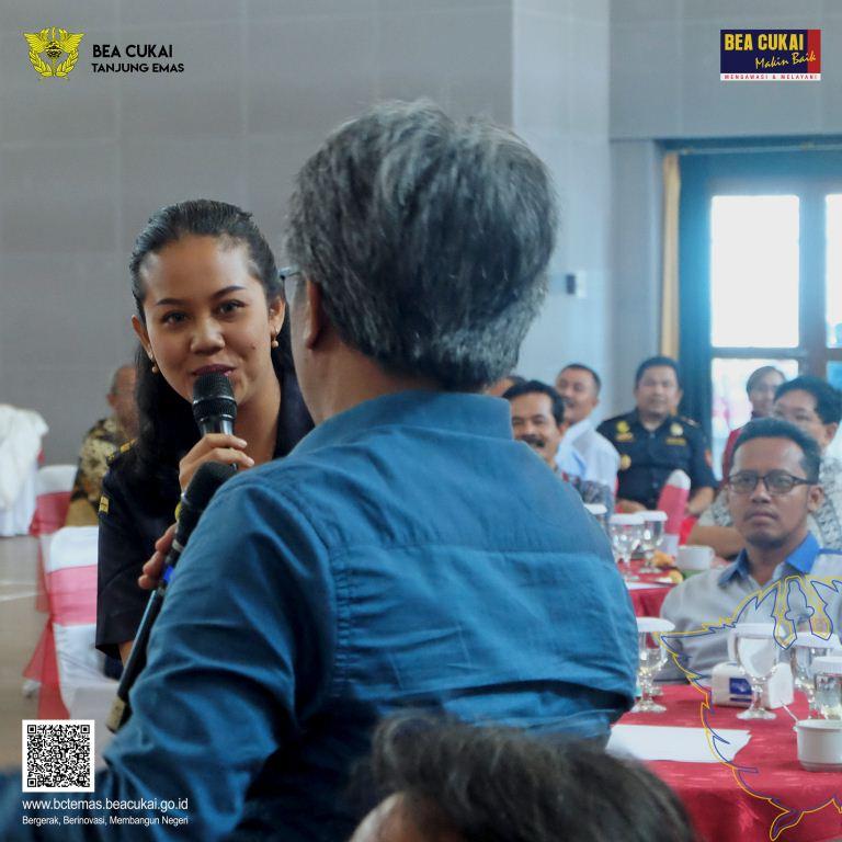 Survey Kepuasan Pengguna Jasa 2019, Bea Cukai Tanjung Emas Berkomitmen Semakin Baik