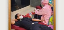 Donor Darah Hari Oeang ke 74