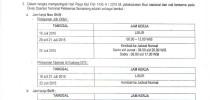 Surat Edaran TPKS SE-16/TR.0101/TPKS-2015